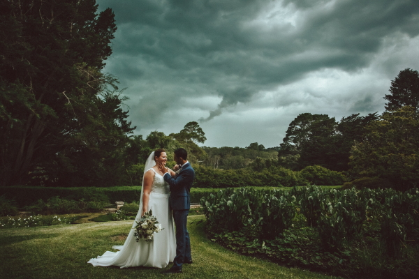 Newlyweds on a story day in Bowral
